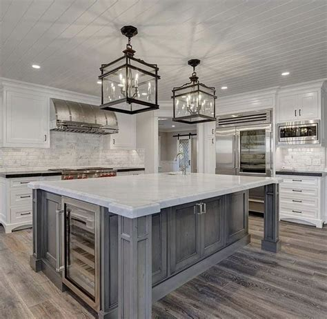 beautiful kitchen island  flooring dream home home