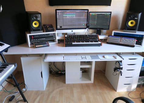 Home Studio Desk Ikea Best Home Design 2018 Home Recording Studio Desk Ikea