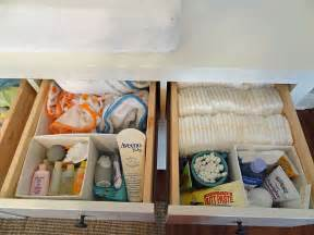 Changing Table Organization Hemnes Drawer Organizer Idea Really Thinking That Dresser Might Be An Investment Nursery