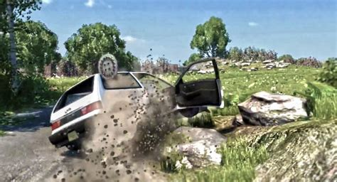 realistic car crash simulator beamng is a real time simulation for car crash