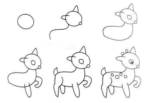 Drawing Step By Step Easy Animals by Drawing Pictures Animals Step Step Drawing Pictures