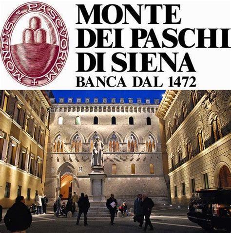 banco paschi di siena banco mais antigo do mundo est 225 no centro de uma