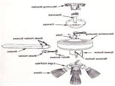 harbor ceiling fan parts harbor ceiling fan parts diagram theteenline org