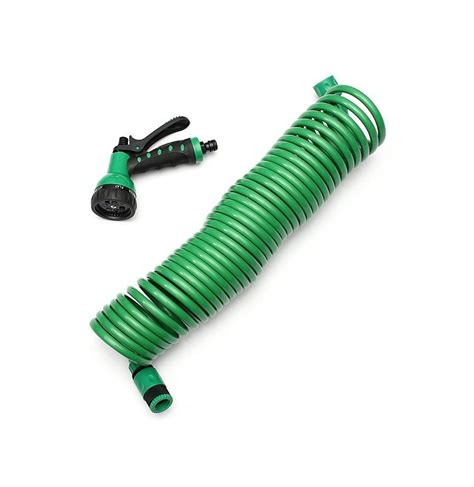 Hose Nozzle For Garden Hose by 10m Portable Expandable Garden Water Hose With Nozzle