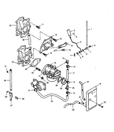force  hp   drive carburetor adapters fuel lines parts