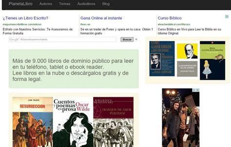 libro para leer online planetalibro m 225 s de 9000 libros de dominio p 250 blico para descargar o leer online