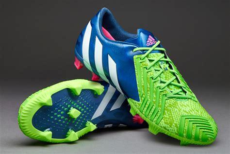 Sepatu Bola Adidas Predito Instinct Original sepatu bola adidas predator instinct fg blue white green