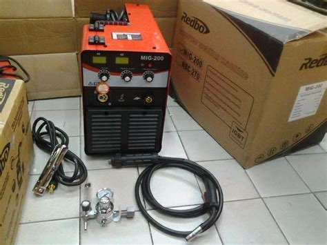 Mesin Welding Mig sell harga mesin las redbo mig 200 mesin las co from