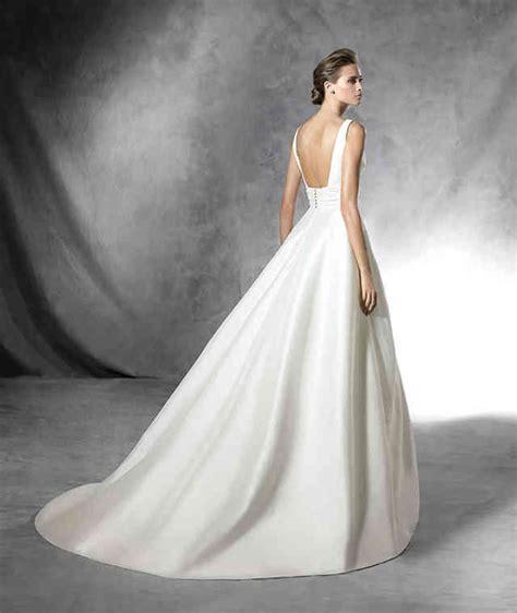 Hochzeitskleid Schlicht Knielang by Original A Linie Kleid Mit V Ausschnitt In Dupioni
