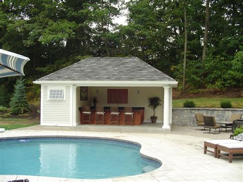 building a pool house central ma pool house contractor elmo garofoli