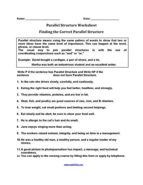 sentence patterns review worksheet sentence structure worksheets high school worksheets for