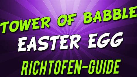 richtofen easter egg easter egg bo2 tranzit richtofen tower of