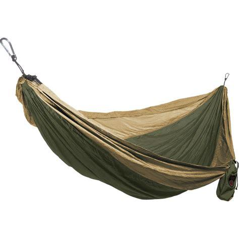 Deluxe Double Parachute Silk Cing Hammock Swings N