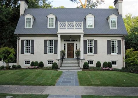 awesome home painted   paint brick house  cream