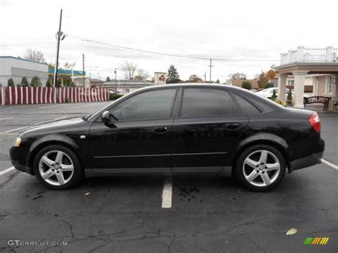 Audi A4 1 8t Black brilliant black 2003 audi a4 1 8t quattro sedan exterior