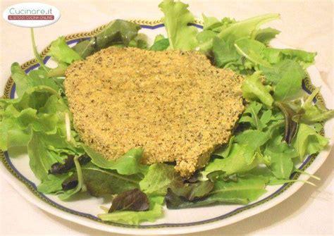 cucinare la polenta taragna braciola di maiale dorata con farina di polenta taragna