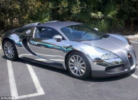Bugatti Gold Chrome Flo Rida S Gold Bugatti Rapper Spares No Expense As He