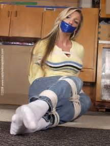 Tied up women white girls tied pinterest socks and girls
