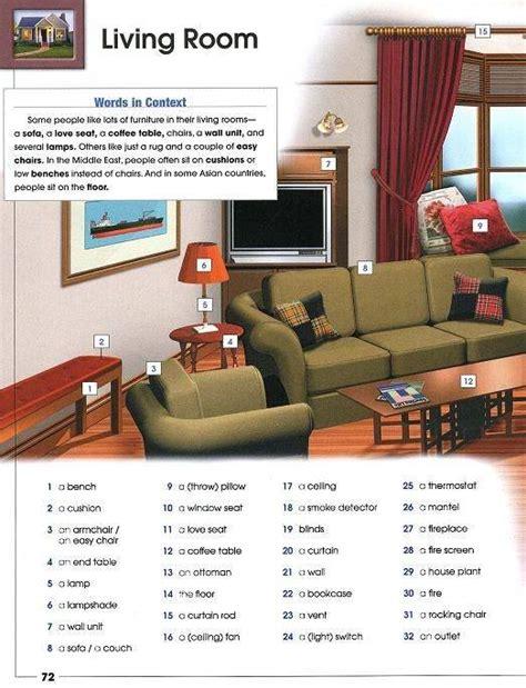 living room dictionary living room furniture vocabulary interior design