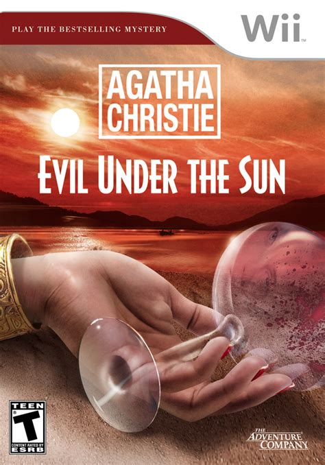 Agatha Christie Evil Under The Sun For Nintendo Wii | agatha christie evil under the sun nintendo wii game