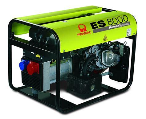 pramac es8000 run 3 phase generator
