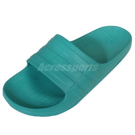 slide in slippers adidas duramo slide green mens sandal slides comfortable