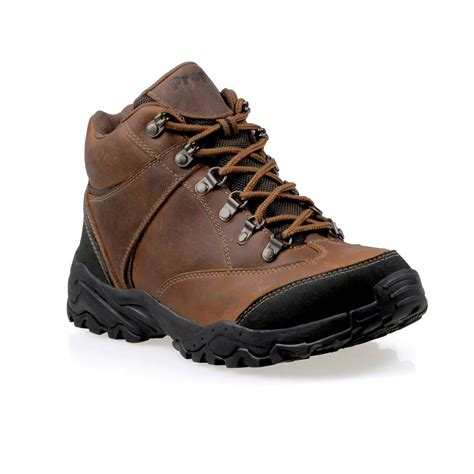 s propet 174 5 quot navigator waterproof hiking boots brown