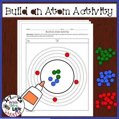 Atoms Building Blocks Of Matter Worksheet