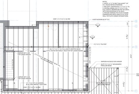 floor framing plan floor framing design fine homebuilding