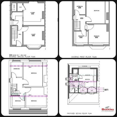 Garage Conversion Floor Plans by Loft Conversion Burntwood Buckley Loft Conversions