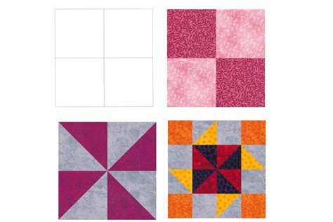 Patchwork Shapes - how to identify patchwork designs