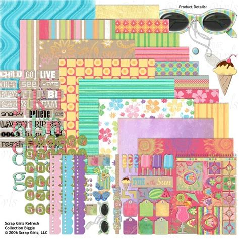 How To Scrap More In 2007 by Newsletter Scrapgirls Scrap Digital Les Loisirs De Maud