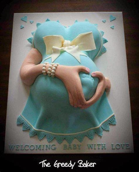 Showers And Pregnancy by Baby Shower Belly Cakes Amazing Belly Cakes