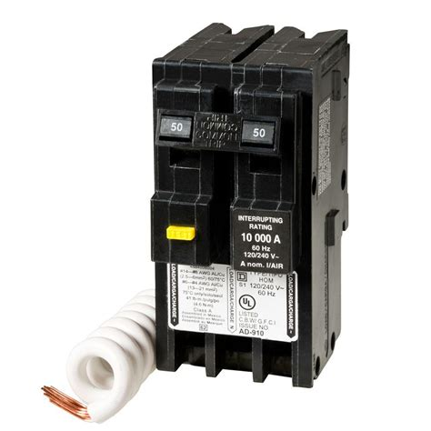 square d gfci circuit breakers wiring diagram gfci
