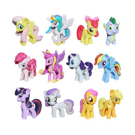 film anak my little pony jual mao little pony figure mainan anak 12 pcs online