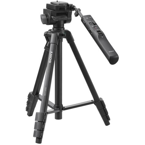 sony compact remote tripod vctvpr1 b h photo