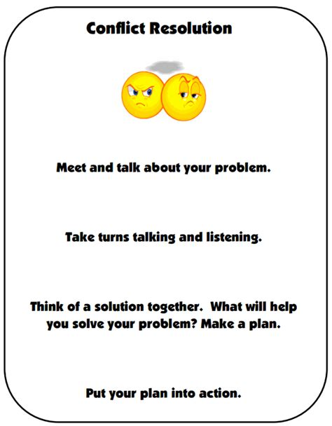 bullying and conflict resolution guidelines and resources