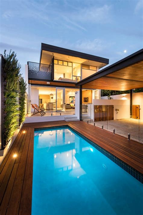 tempting contemporary swimming pool designs