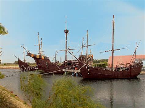 fotos de cristobal colon y sus barcos la ni 241 a la pinta y la santa mar 237 a turism 225 ticos