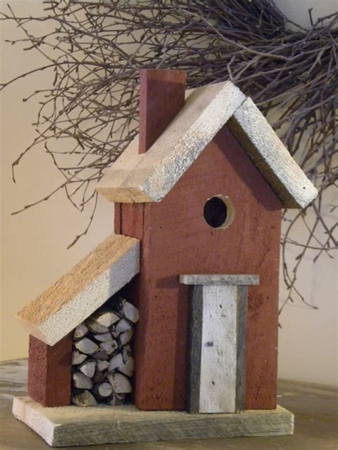 Handmade Birdhouses - birdhouse brokerage crafted from reclaimed barn wood