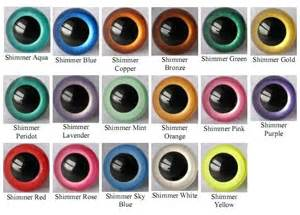 eye colors chart anything knitted and crocheted suncatcher a contest