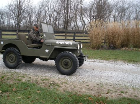 Jeep Pto Jeep Style With P T O 1947 Willys Cj2a For Sale