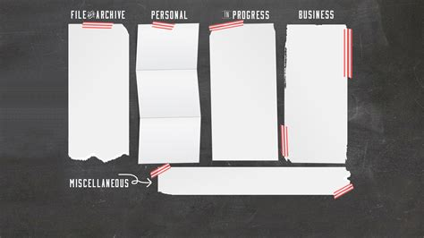 Desk Top Organization Chalkboard Computer Desktop Wallpaper Organizer Free