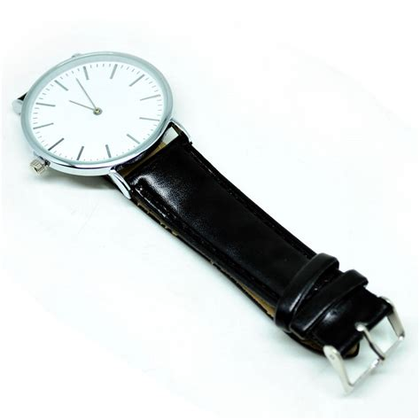 Jam Tangan Murah Fashion Kulit Oem Brown jam tangan analog kulit oem black jakartanotebook