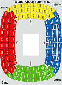 cape town stadium floor plan cape town stadium find out where you re sitting follow