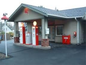 vintage gas station garage storefront
