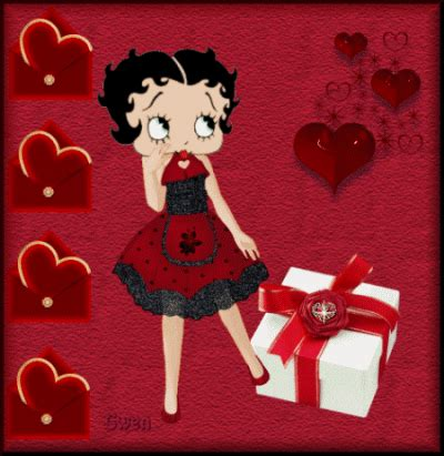 betty boop happy valentines day betty boop pictures archive betty boop animated