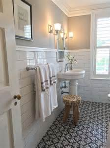Vintage Bathroom Tile Ideas image via pinterest and debbie basnett