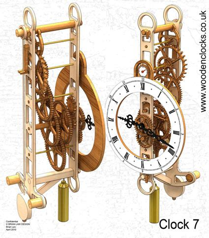wooden gear clock plans  dxf jennifer leblanc blog