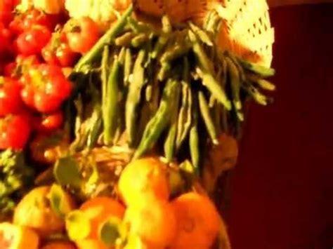 banco frutta e verdura miniature in cera banco di frutta e verdura
